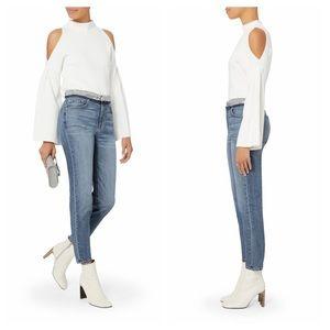 IRO Jones sequins waist high rise slim leg jeans